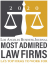 Los Angeles Business Journal Most Admired Law Firms
