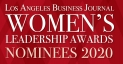 Los Angeles Business Journal Women's Leadership Awards Nominees 2020